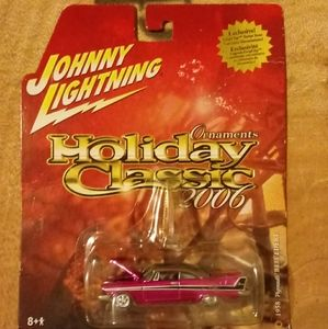 Vintage Johnny Lightning Ornament